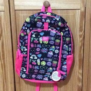 Limited too emoji fashion backpack NWT!